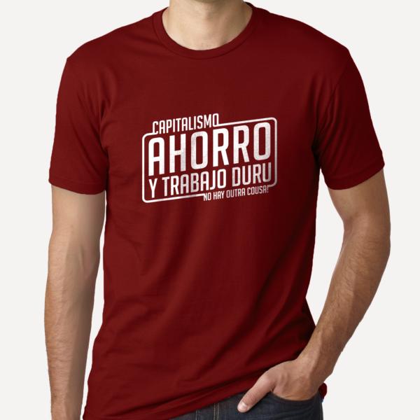 camiseta_capitalismo_ahorro_y_trabajo_duru_azul_granate