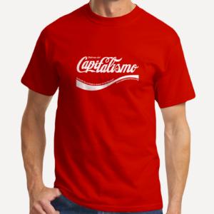 camiseta_disfruta_del_capitalismo_rojo