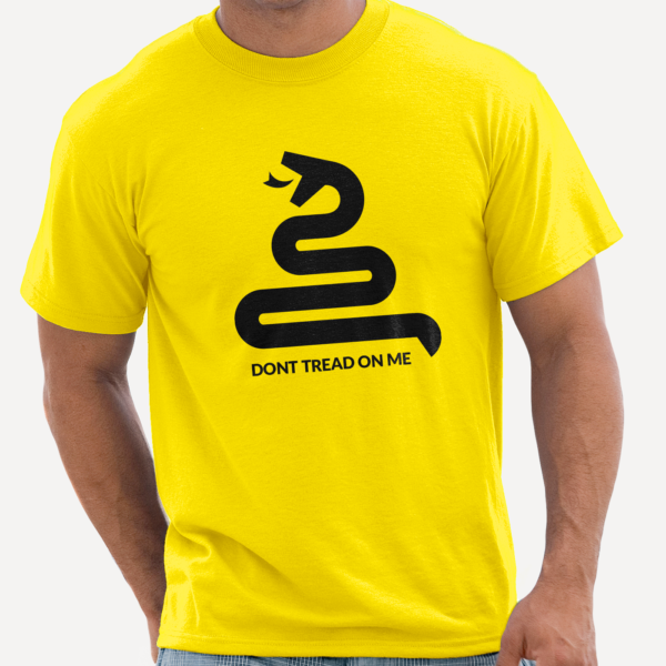 camiseta_dont_tread_on_me_amarillo